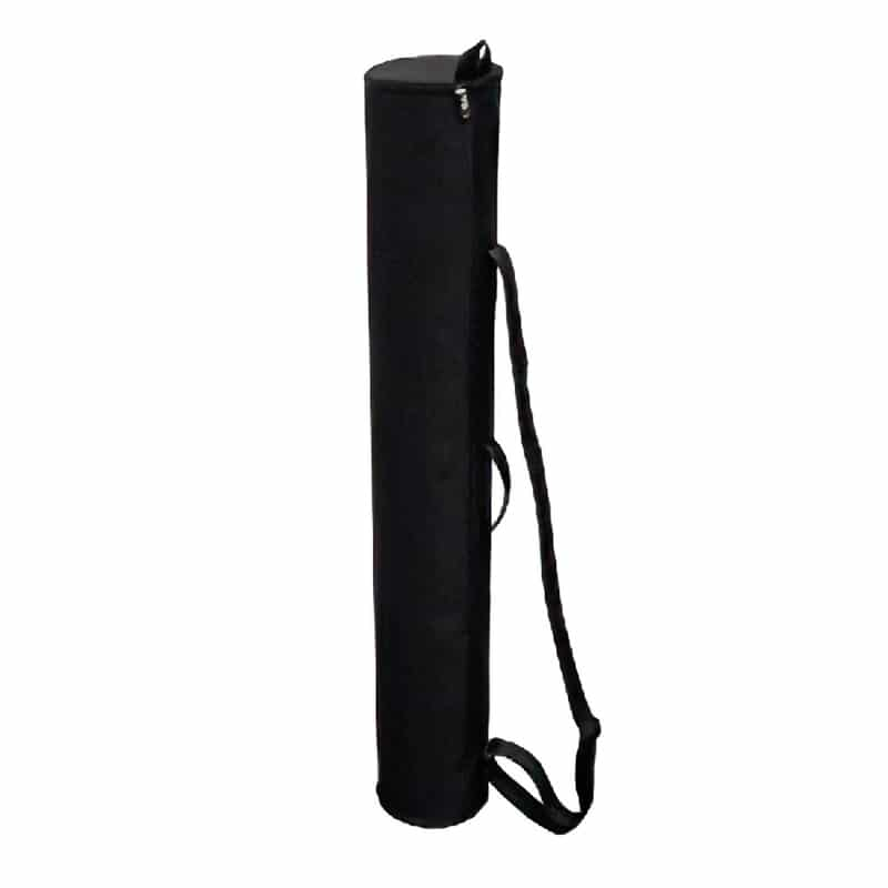 black carry case for summit portable display
