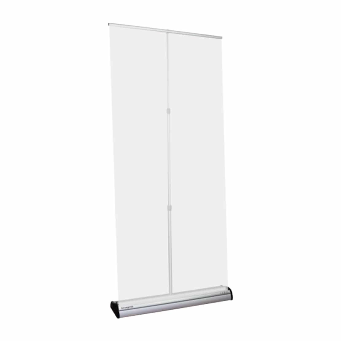 imagine banner stand display showing pole and top bar