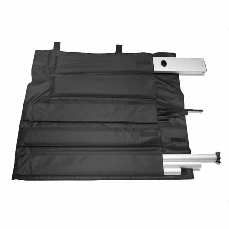 link up banner stand displays hardware roll-up case