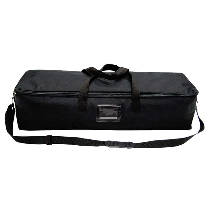 XSnap pop-up display black carry bag closed