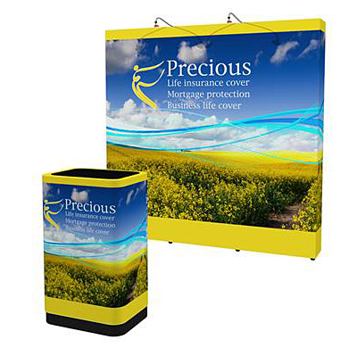 FabriMural Tension Fabric Pop Up Display