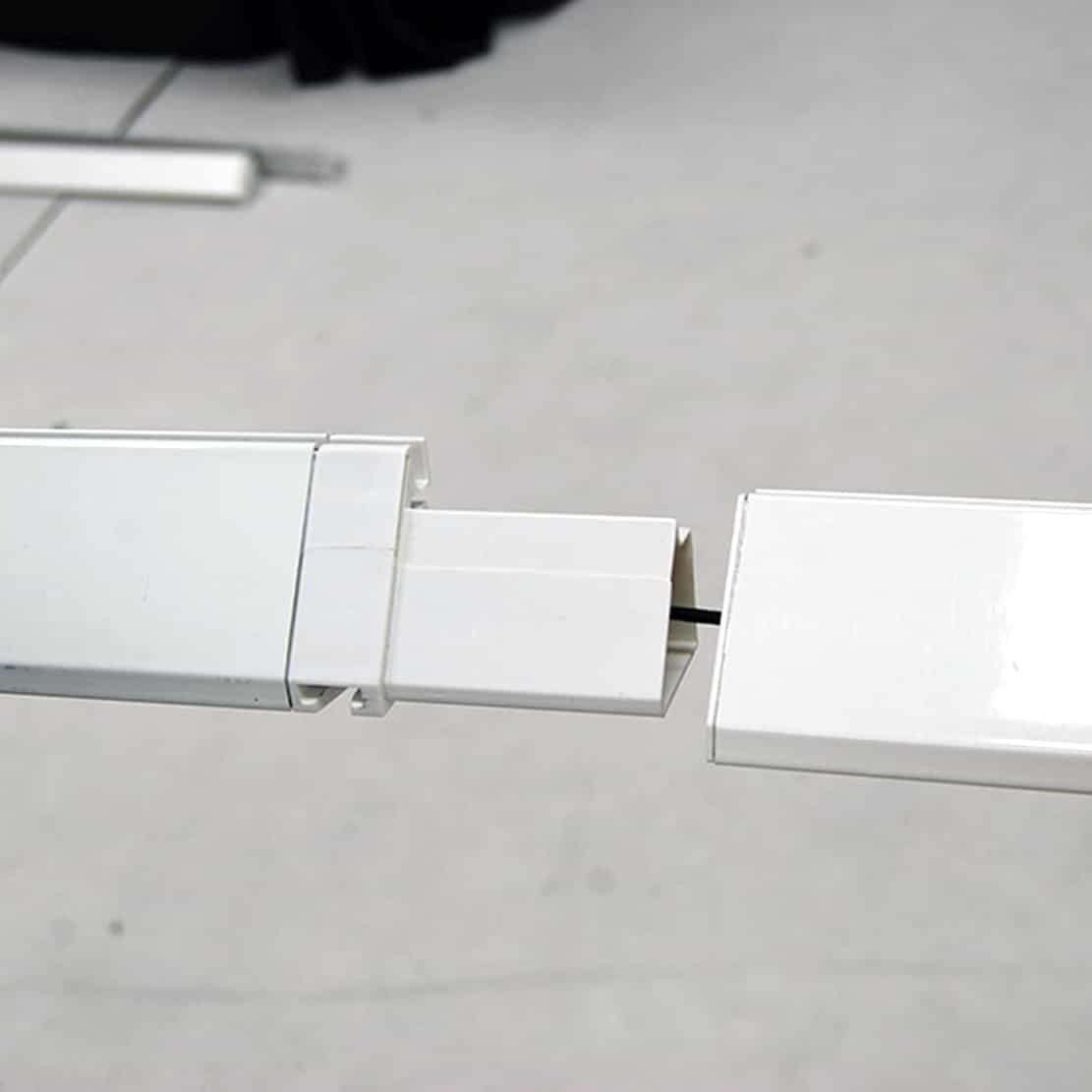 next radiance backlit SEG display frame tubing connector