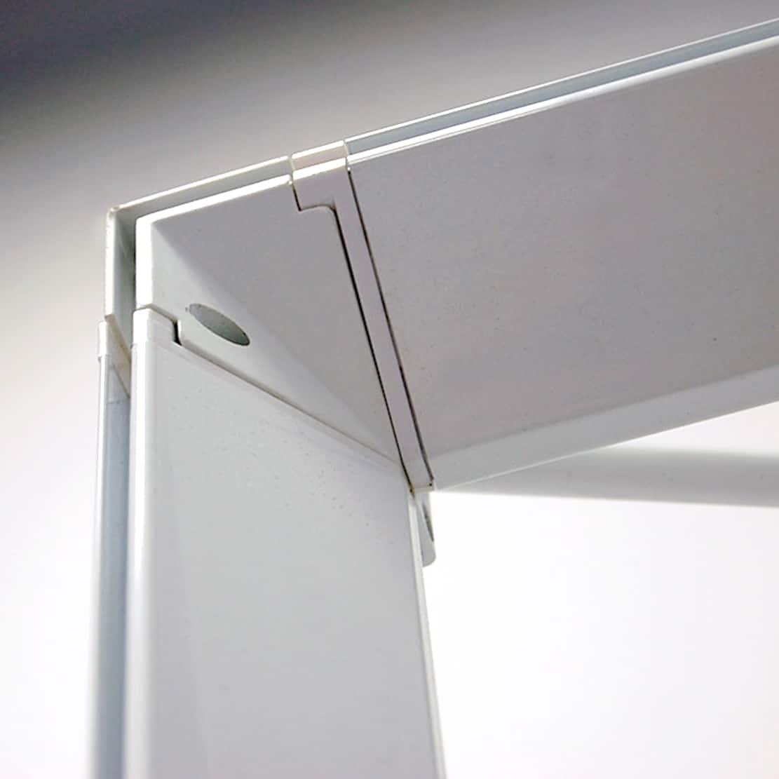 next radiance backlit SEG display frame corner detail