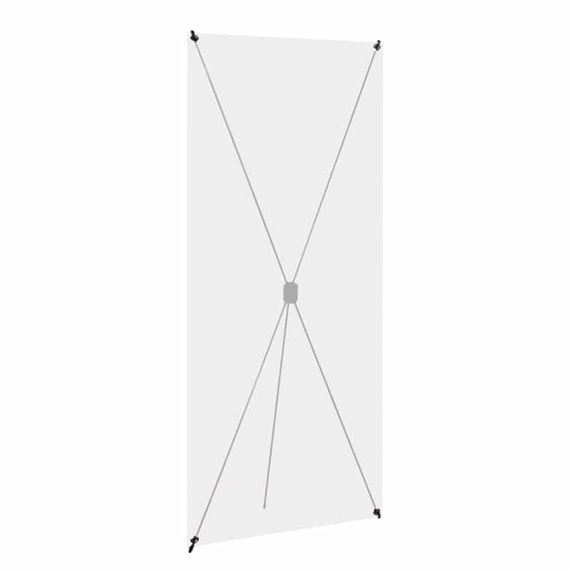 Spring Banner Stand XTend showing tension frame