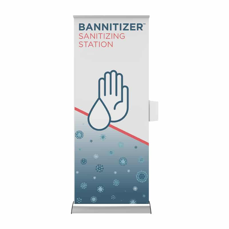 Sanitizing Station Bannitizer front view