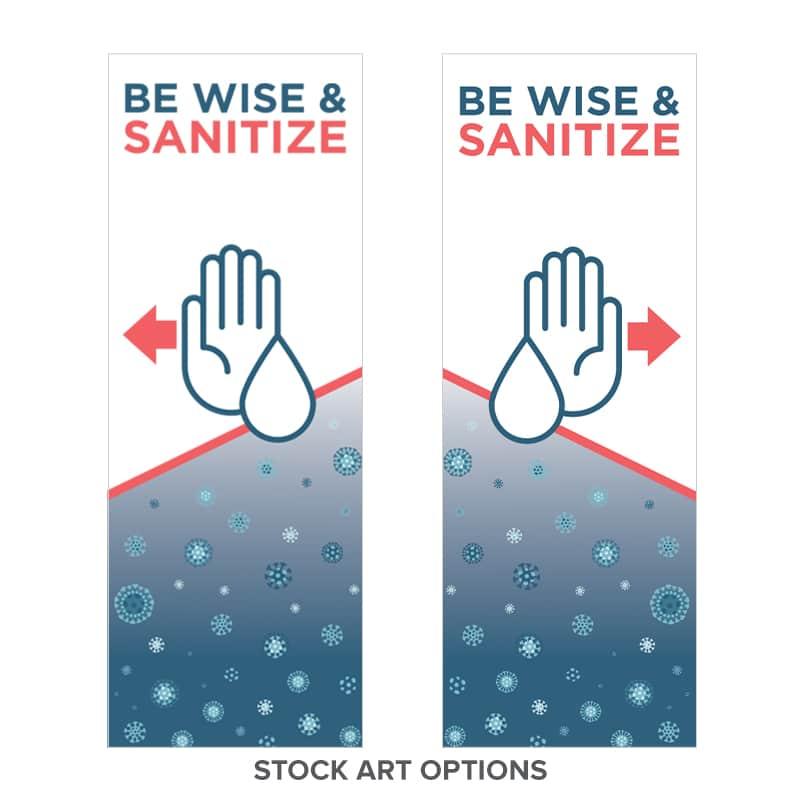 Bannitizer dispenser stock artwork option 3