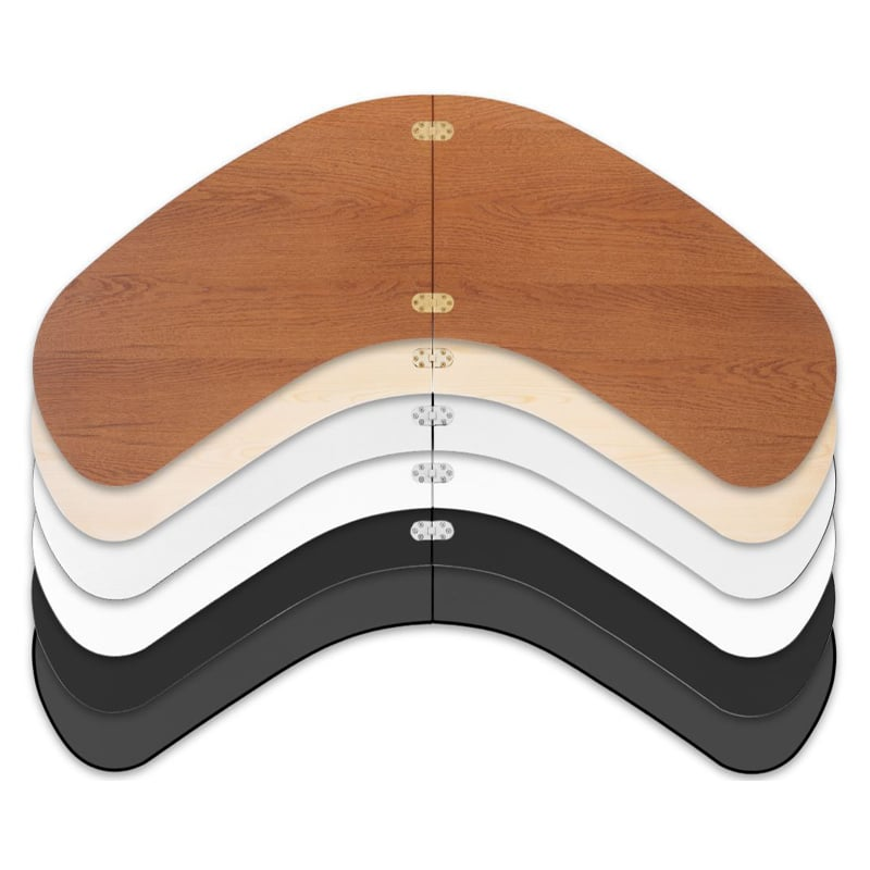 stacked color options for counter top for expand podium case