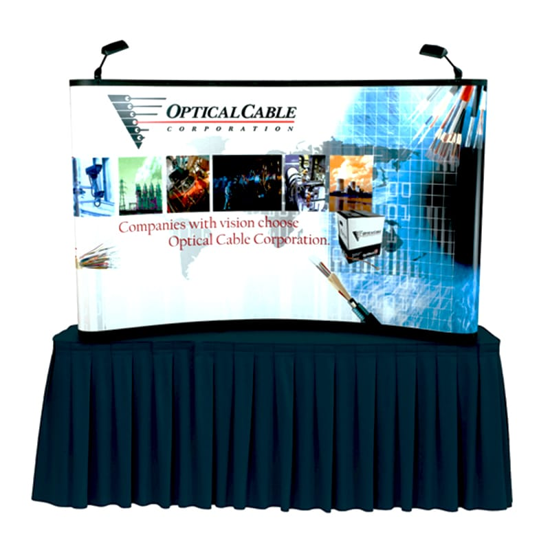 8 x 5 US Pop Up Display Nomadic Libra front view