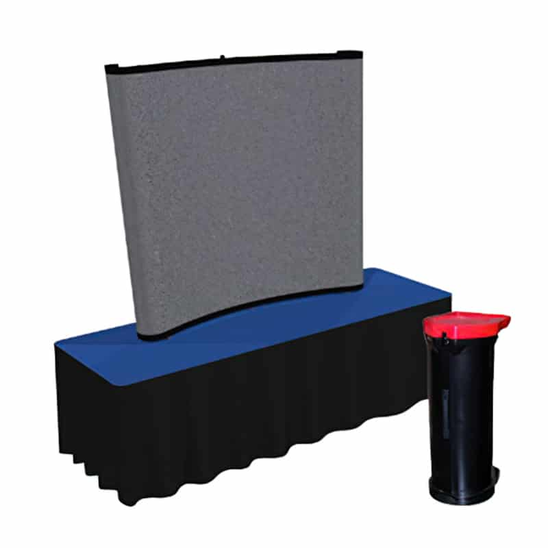 sirius-6-foot-curved-pop-up kit without graphics