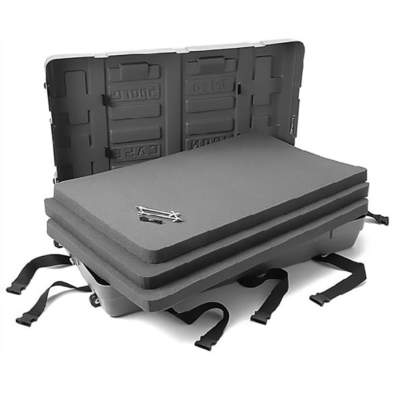 iron mobile shipping case, with ultra-dense foam inserts