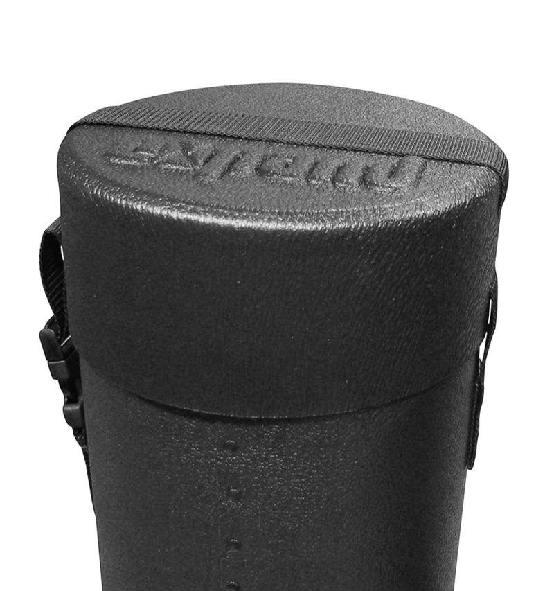 50 x 9 Ship Case -up close image of lid with strap