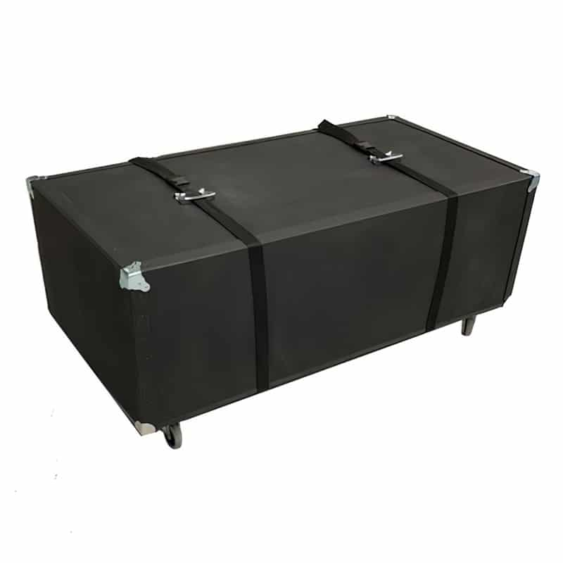 heavy-duty hard case with wheels for 20x20 flooring