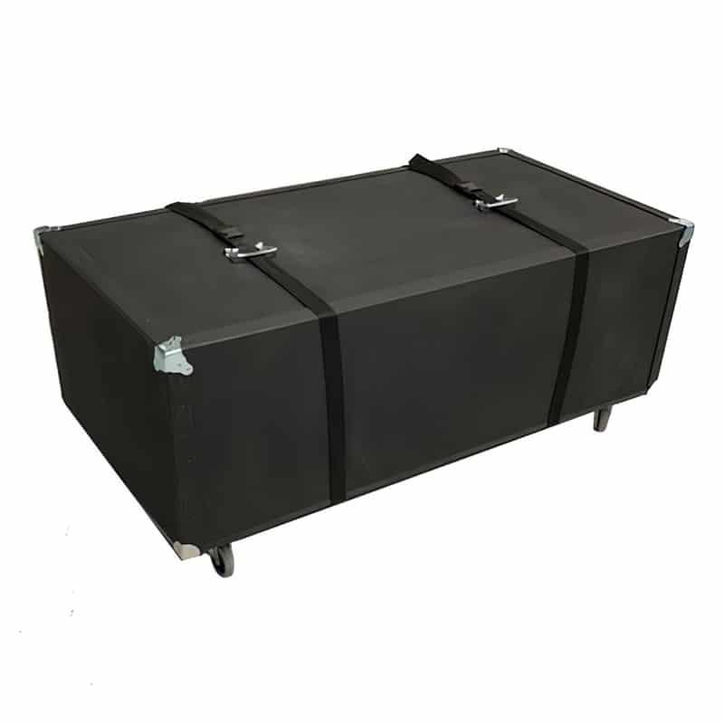 heavy-duty hard case with wheels for 20x20 flooring