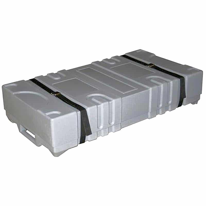 heavy-duty shipping case for 10x10 flooring