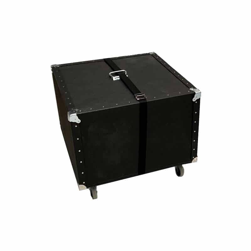 heavy-duty hard case with wheels for 10x20 flooring