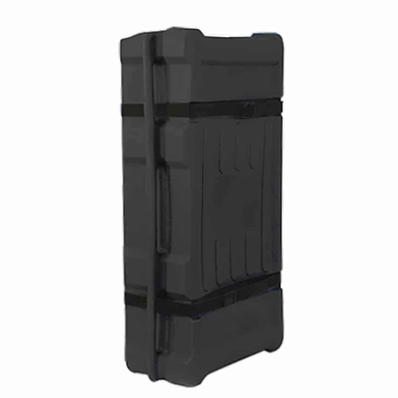 och heavy-duty shipping case for portable displays