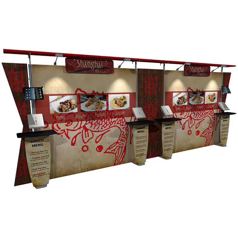 20 X 10 FABRIC DISPLAY STRAIGHT CANOPY – INSPIRE 2.0