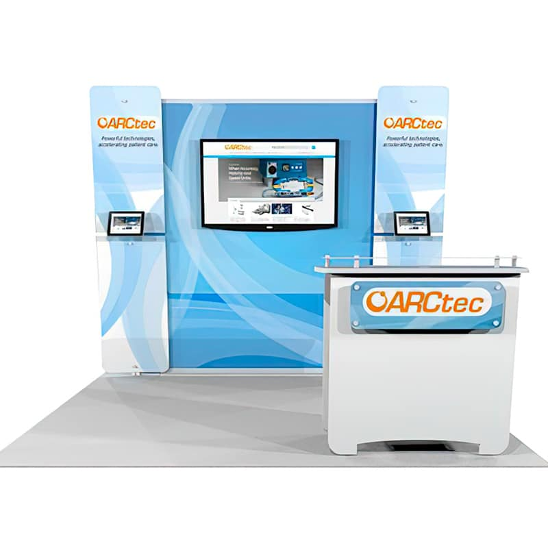 Show Smart 10 x 10 Multiple Size Exhibit has a high impact on contemporary smart design