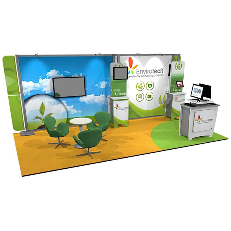 10 X 20 TECHNOLOGY DISPLAY – DESIGN LINE