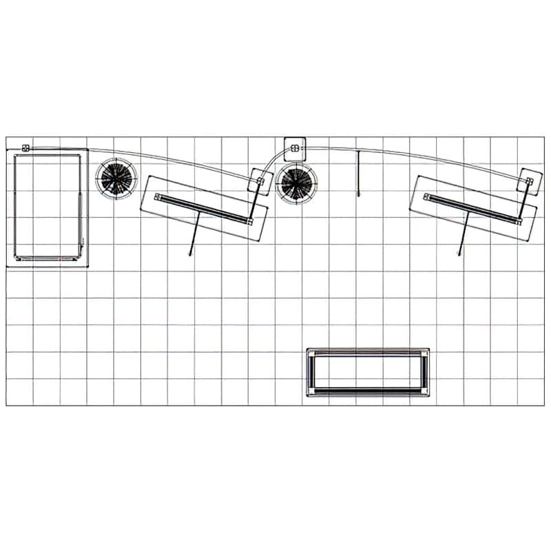 10x20 floorplan for this display that can grow or shrink with your changing needs