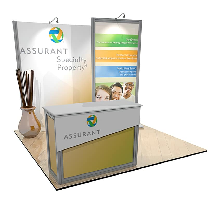10 x 10 Trade Show Display – Scalable