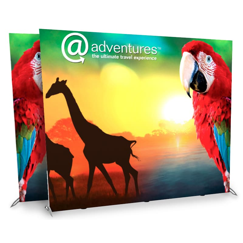 10 Foot Double-Sided Backlit Display Kit – LightWall