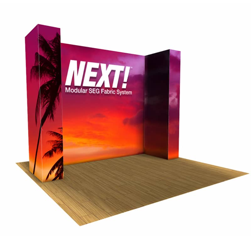 10 x 10 U-Shaped SEG Modular Display – NEXT!