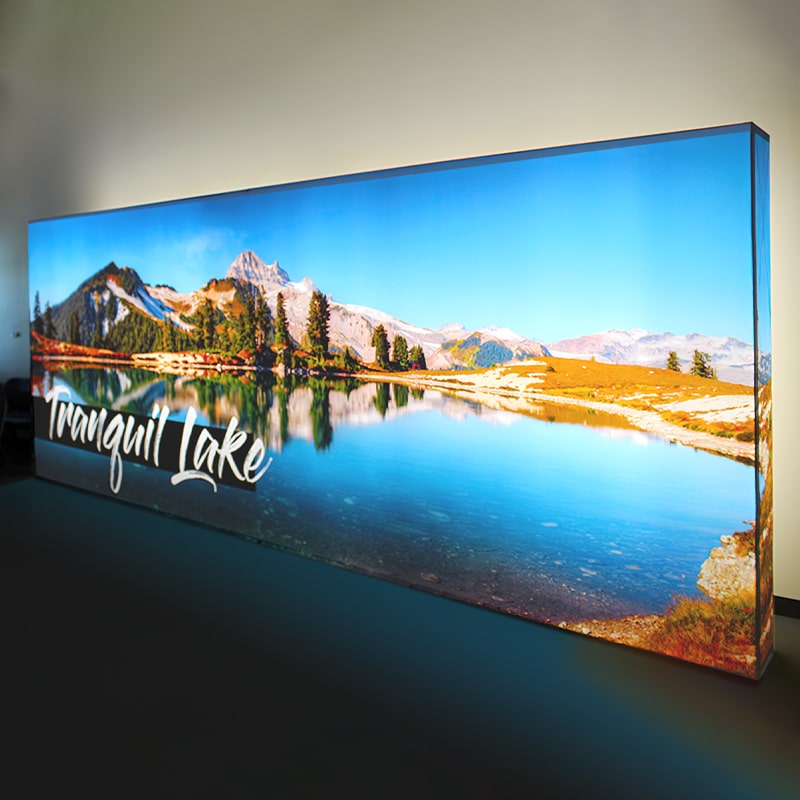 Jaw-dropping 4K printing and LED backlighting combined