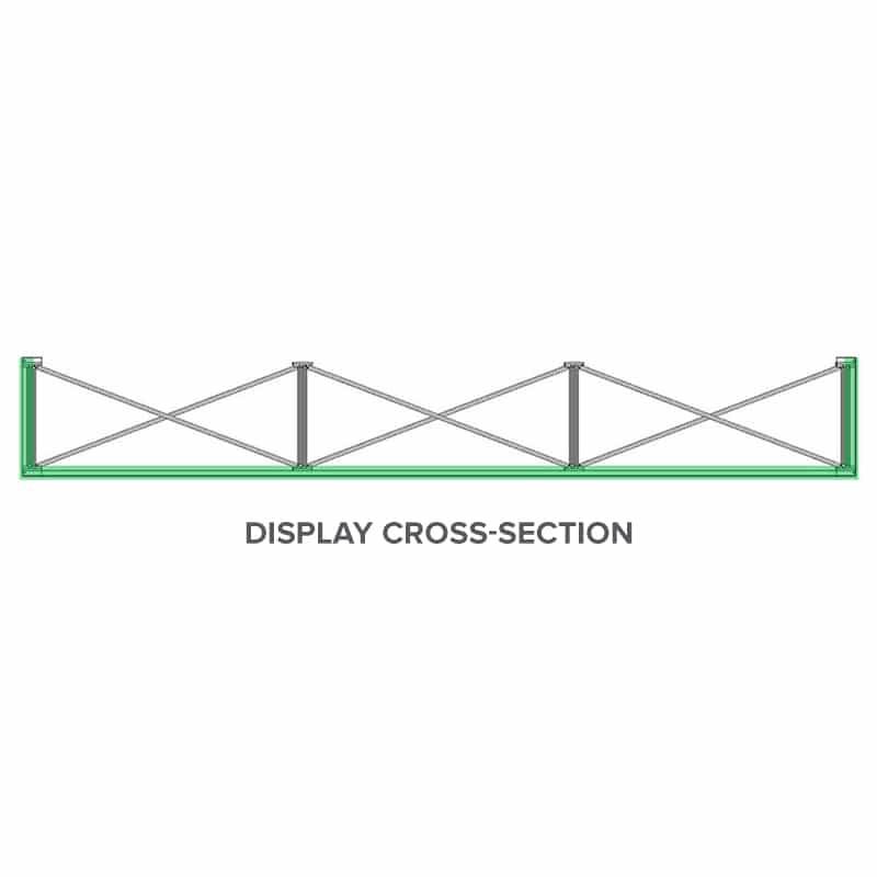 next SEG display frame cross-section diagram