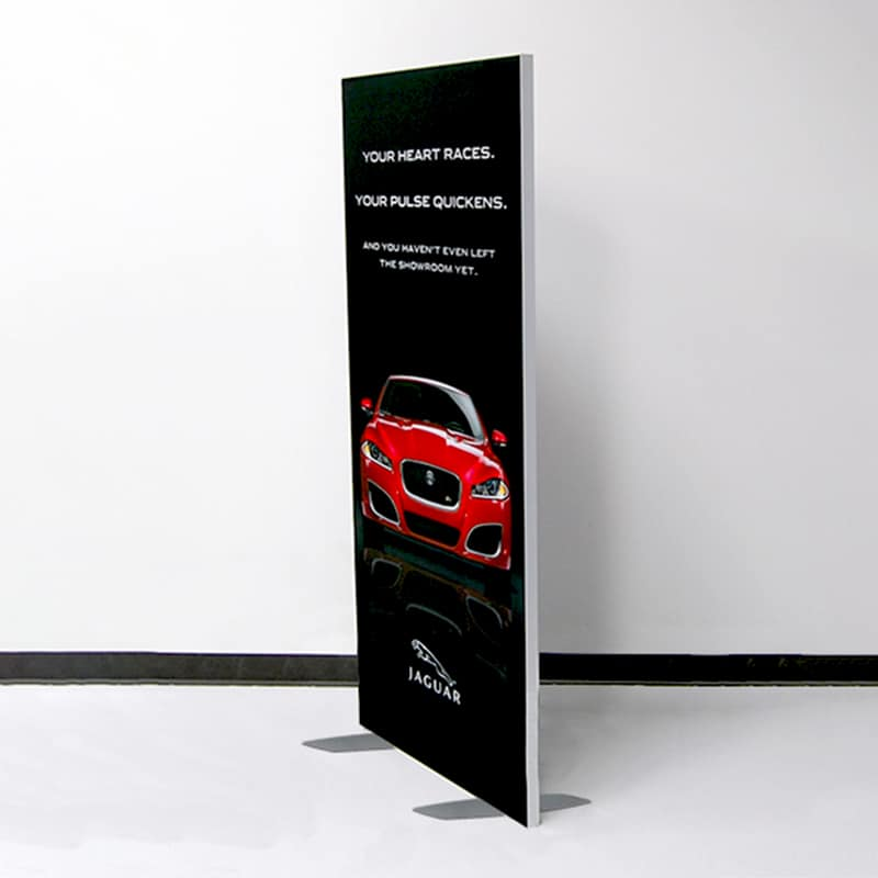 3 X 6 FABRIC SEG DISPLAY – NOUVEAU right side view