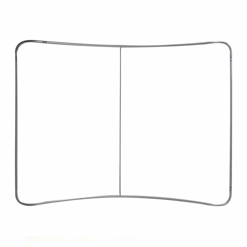Options include a curved frame