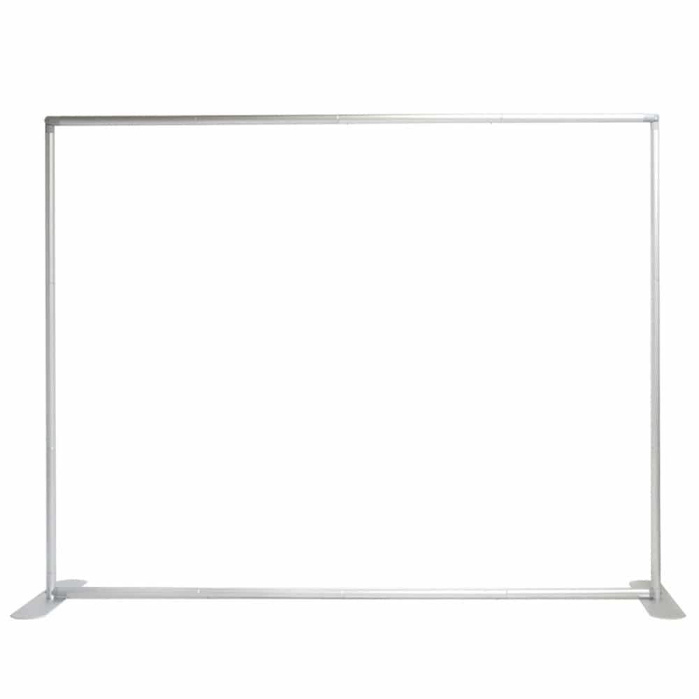 straight tube frame for 8 foot fabric pillowcase display