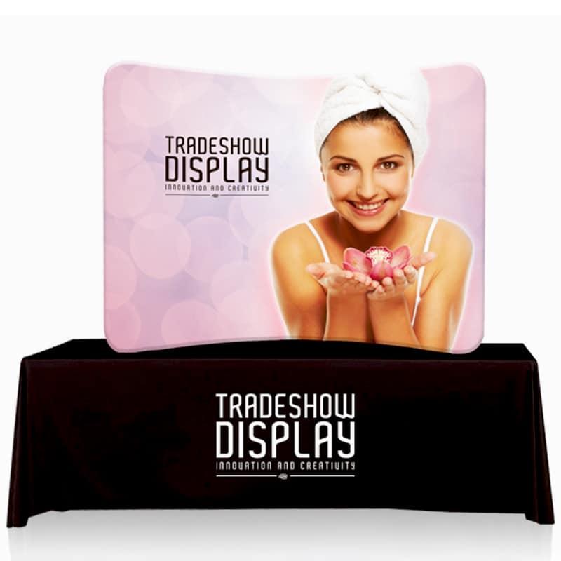 Table Top Fabric Display