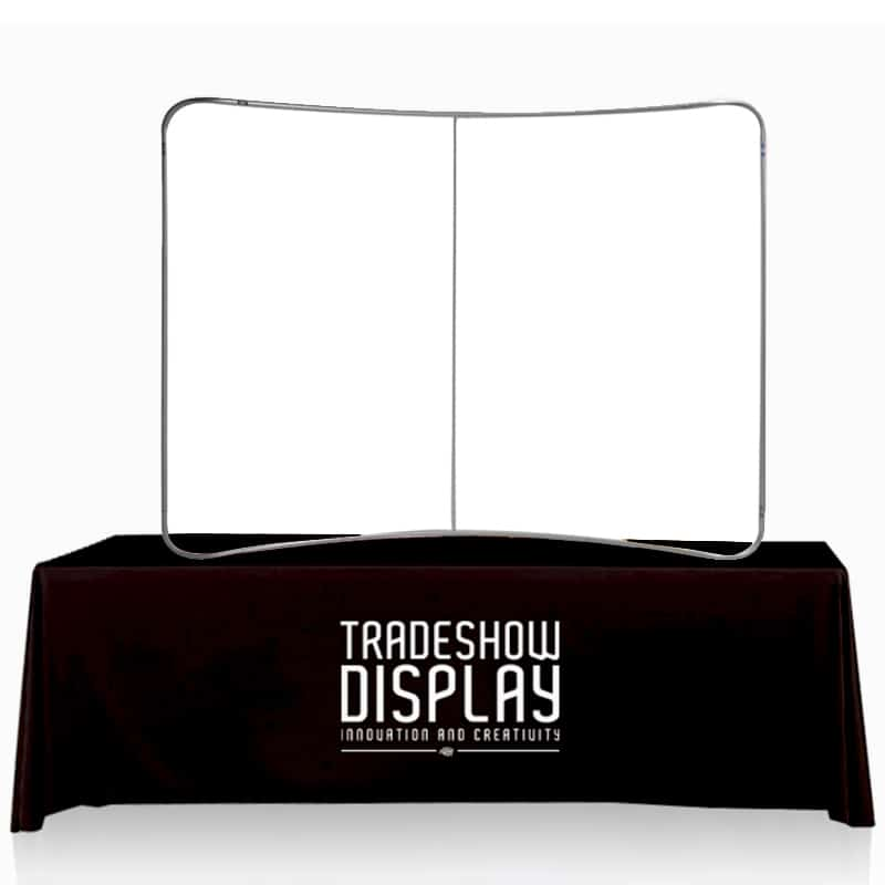 Table Top Fabric Display frame only on table top