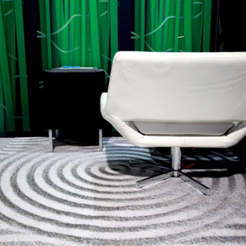 digital print carpet sand texture