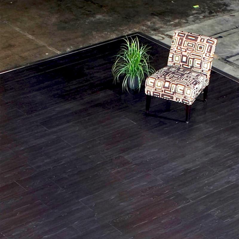 magnitude raised magnetic floor gallery image, black walnut