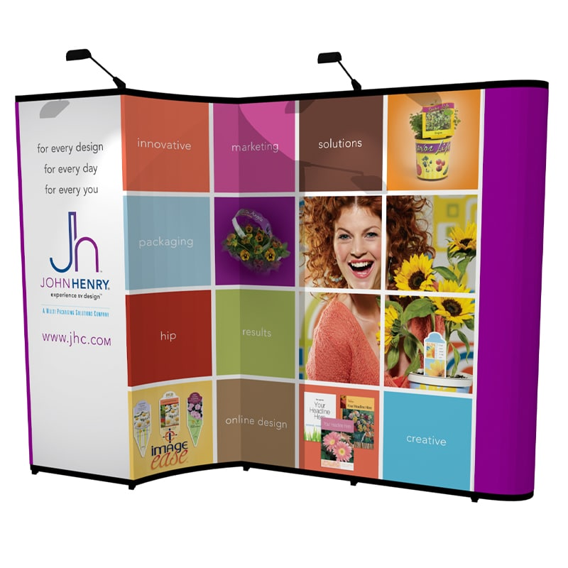 10 x 10 Pop up Trade Show Display-Gemini