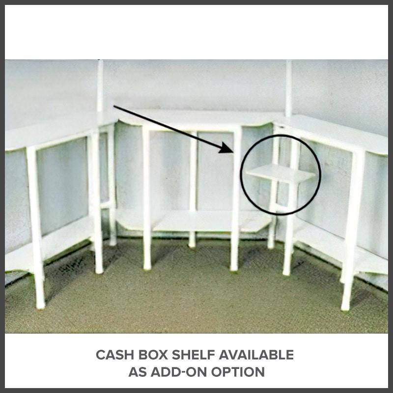 gazebo accessory - cash shelf photo