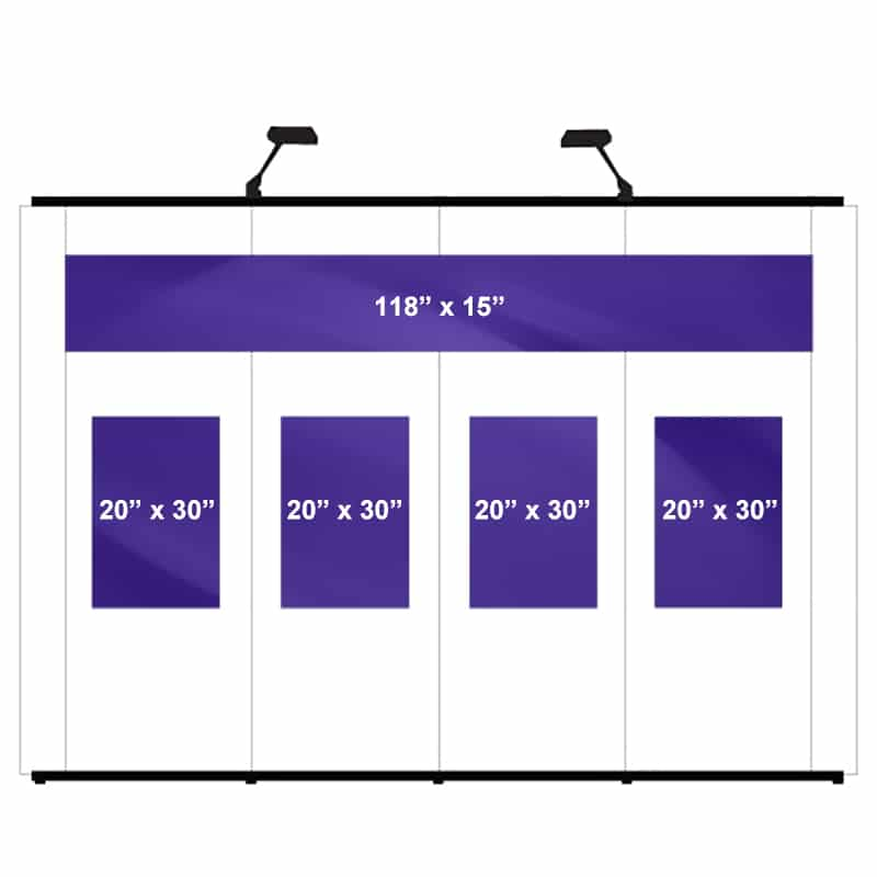 POP UP DISPLAY GRAPHIC PACKAGE A-10