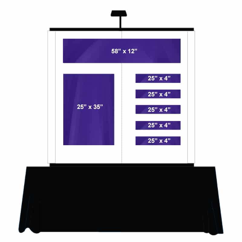 Table Top Graphic Package C