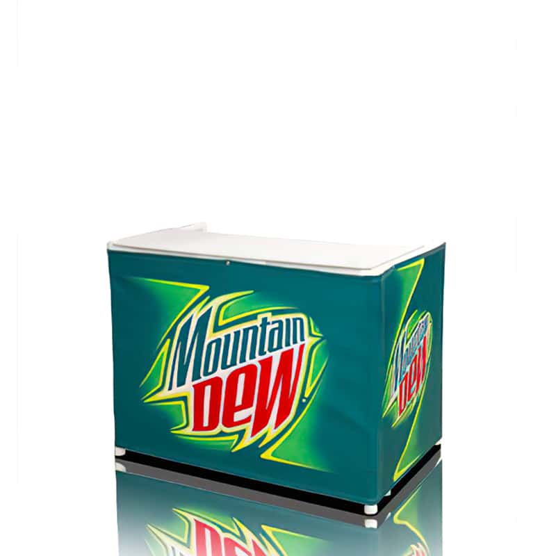 Portable Branded Outdoor Counter-4 Foot fully printed