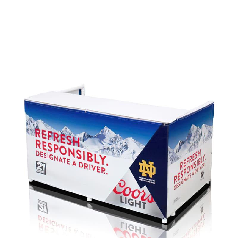 Portable Branded Outdoor Counter-6 Foot full print