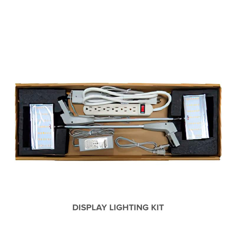 nomadic multiple display lighting kit