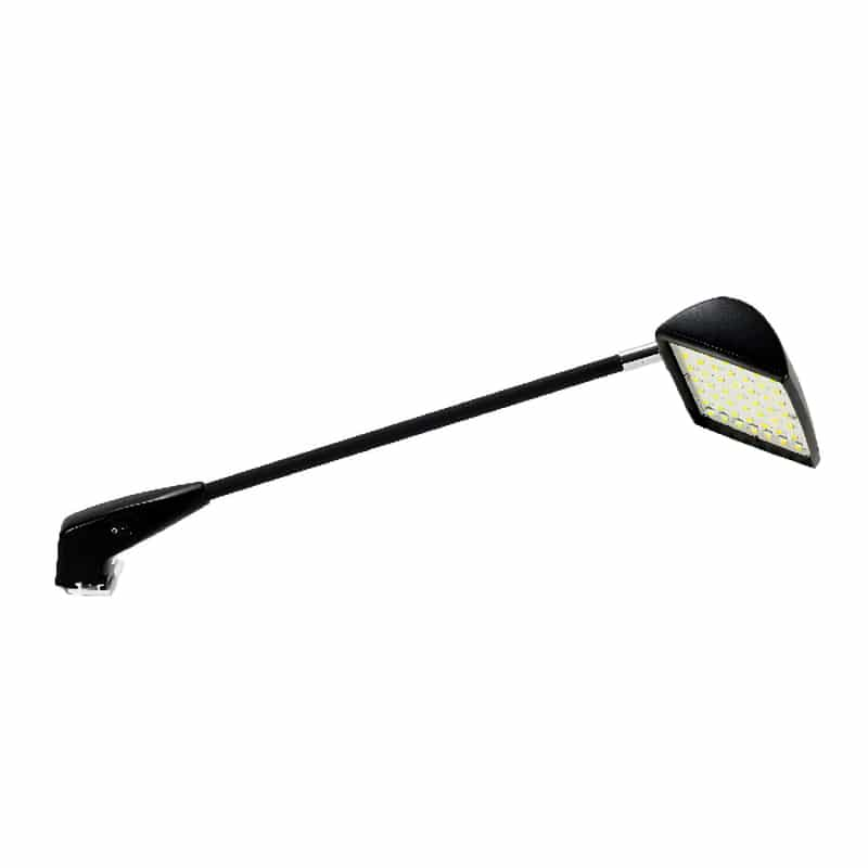 LED arm light for multiple display types