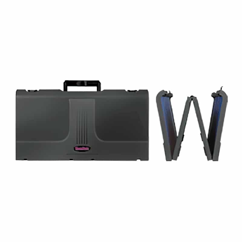 """Brief Case Display Show Style 48"""" x 24"""" table top exhibit profile"""