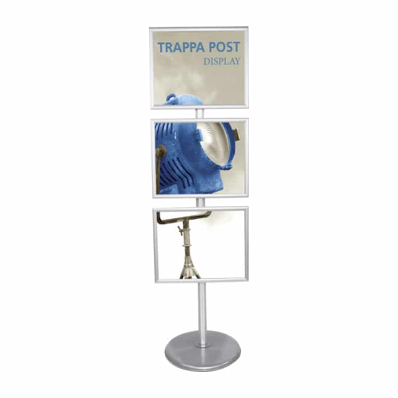trappa multiple sign stand, horizontal frame orientation