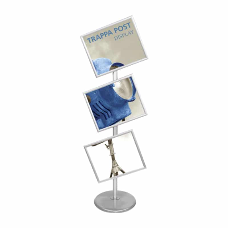 trappa multiple sign stand, tilt frame orientation