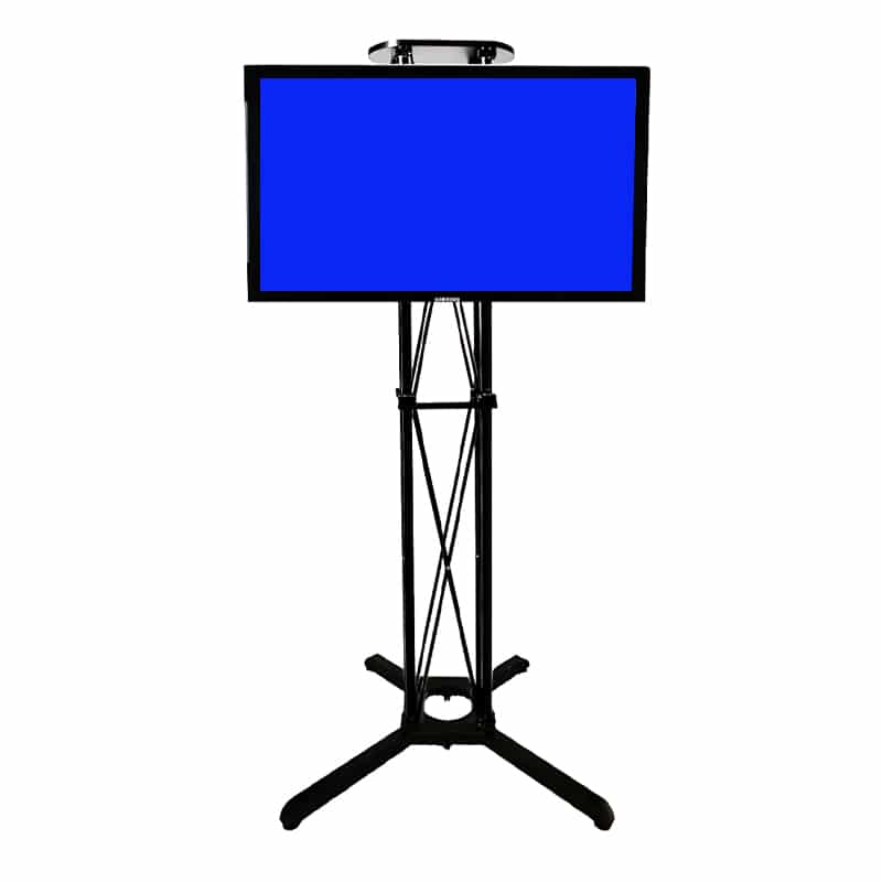 ez fold mobile monitor stand
