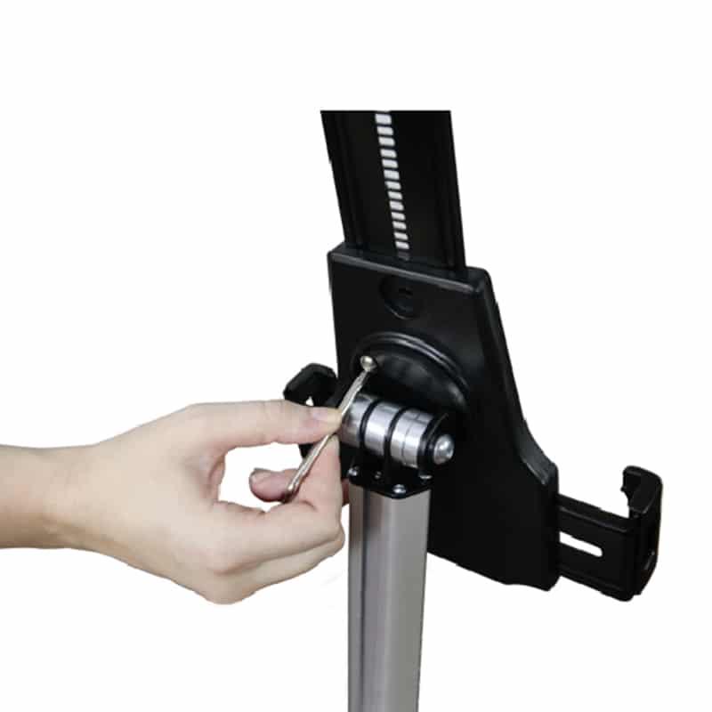 universal tablet stand, setup image 2