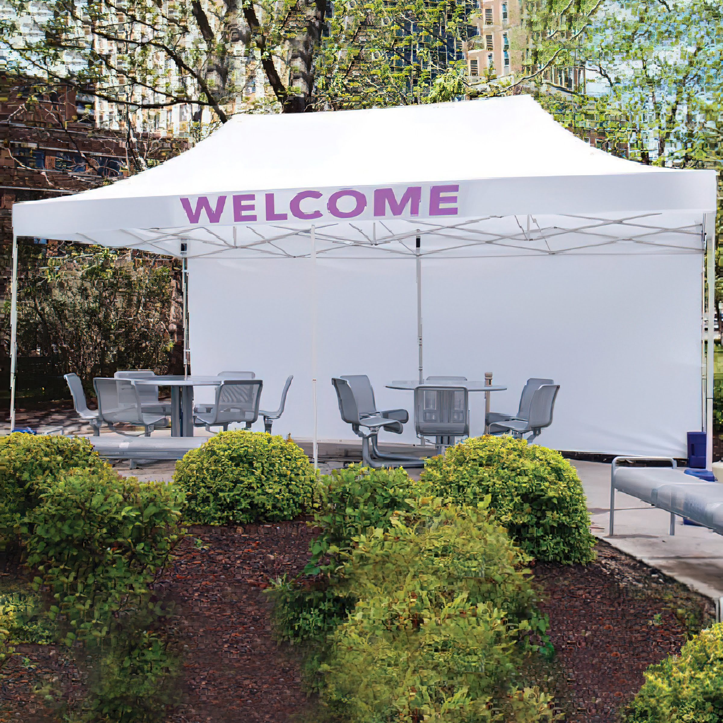 Outdoor Event Tent Premium 10 x 20 Printed or Unprinted